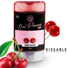 SECRETPLAY LUBRICANTE COMESTIBLE CHERRY LOLLIPOP
